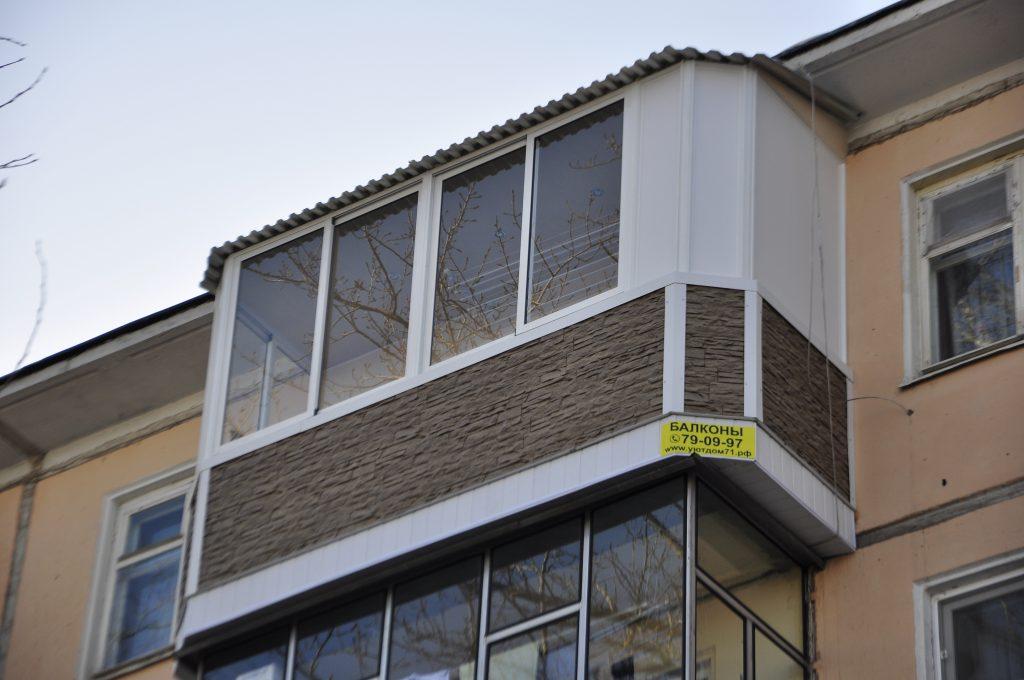 Балконы под ключ остекление балконов Часть 3.