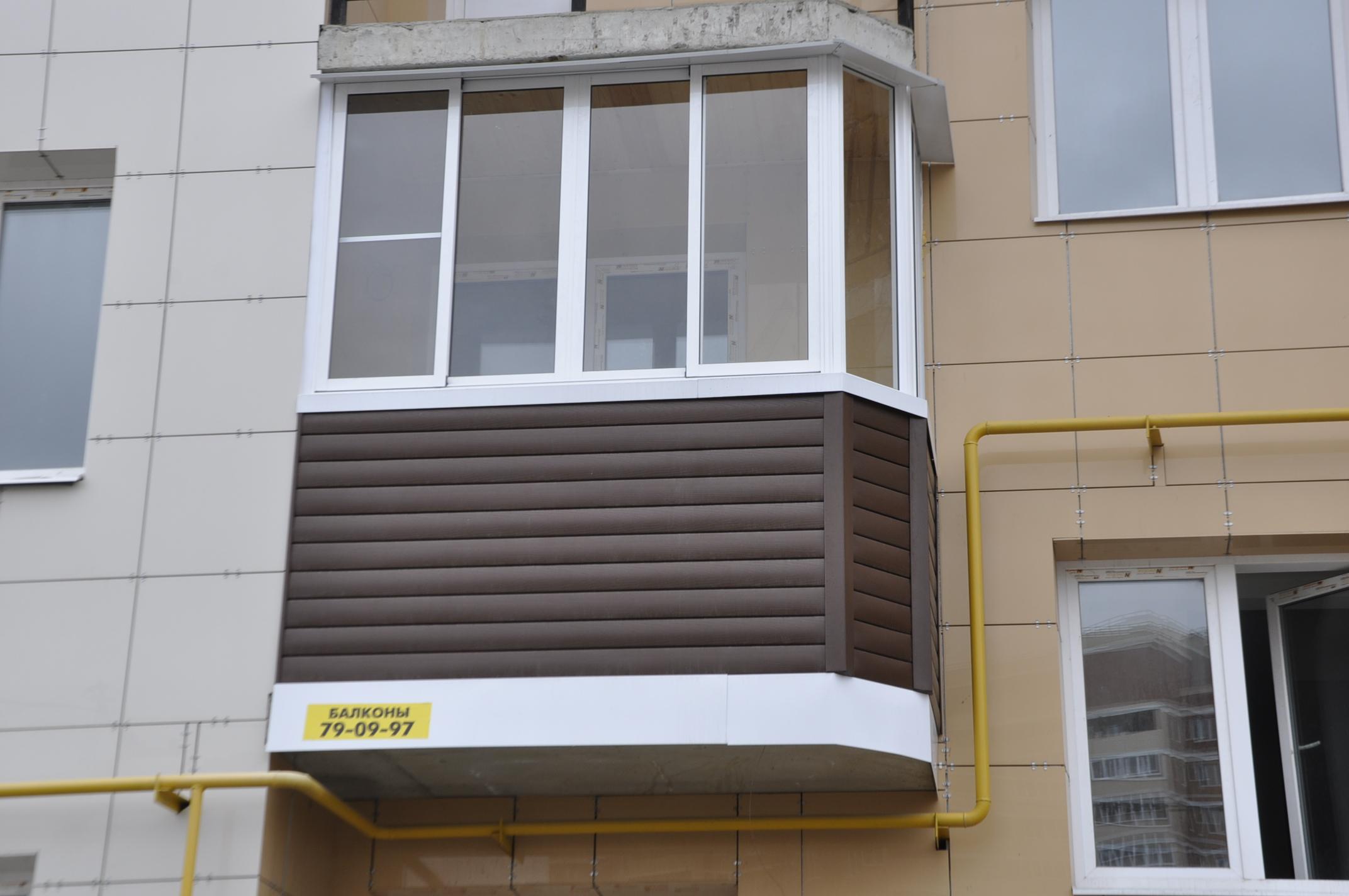 Евро балконы в туле - балконы лоджии окна.